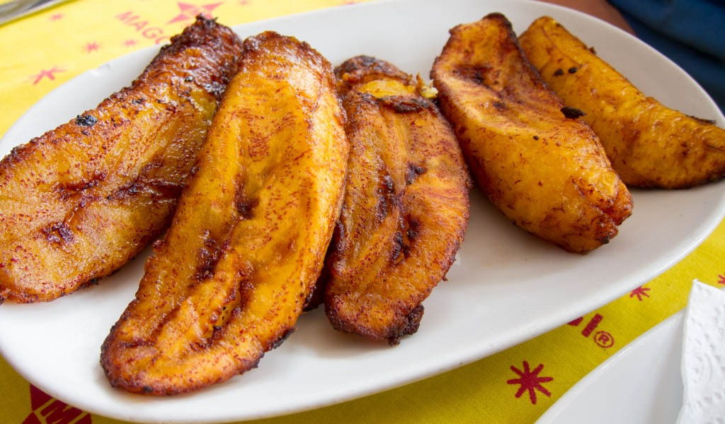 Fried Saba Banana