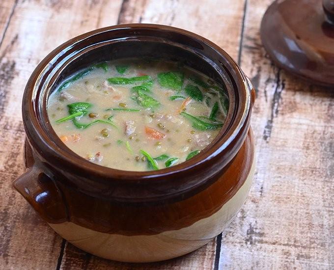 Ginataang Monggo Soup