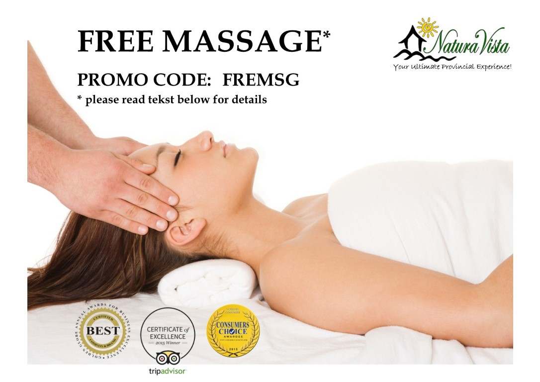 Promo Code for FREE Massage